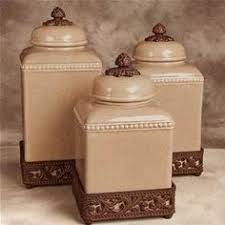 i pinned this 3 piece toscana canister set from the downhome home