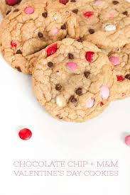 valentines day cookies chip m m s day cookies sprinkles for breakfast