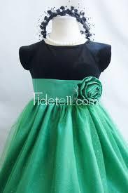 Flower Girls Dresses For Less - princess shamrock kelly green for less flower dress easter