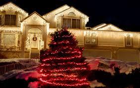 how to wrap christmas lights around a tree light decorating ideas