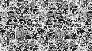 vintage black vintage black and white wallpaper wallpaperhdc