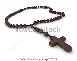 a rosary 3d illustration of a rosary stock illustration search vector