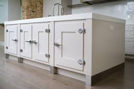 kitchen island cabinets with vintage latch hardware contemporary