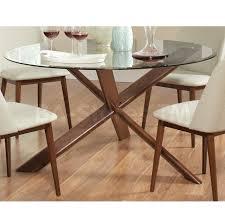 dining sets barett mid century modern 5 pc dining set coa 105991 barett mid century modern 5 pc dining set