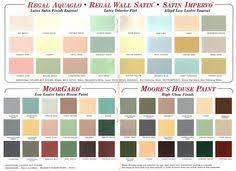 1950 sears paint chip card 1950s pinterest paint chips