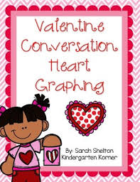 conversation heart conversation heart graphing by shelton tpt
