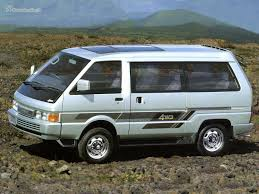 nissan vanette ii 2 4 mt 4wd specifications and technical data