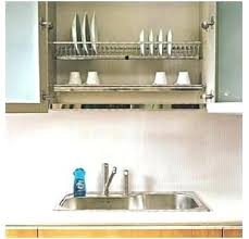 plate rack cabinet insert dish rack inside cabinet under cabinet dish drying rack aninha club
