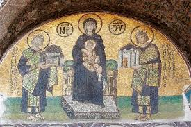 art now and then the hagia sophia istanbul turkey