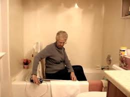 Neptune Recliner Bath Lift The Aqua Joy Bath Lift By Harmar Youtube