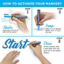 How To Get Marker Off Walls by Amazon Com Chalk Markers For Chalkboard By Versachalk