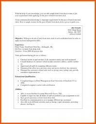 sample resume for food and beverage supervisor front desk resume moa format front desk resume front desk agent resume hotel