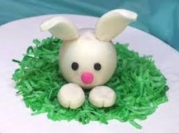 rabbit cake diy fondant bunny rabbit cake topper tutorial