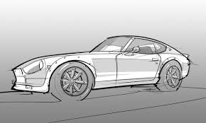 nissan 350z drawing scottdesigner u2013 my automotive design sketchbook