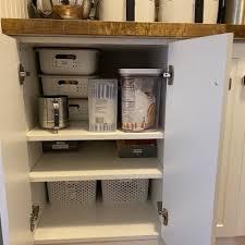 kitchen appliance storage cabinet reduce clutter with small kitchen appliance storage my