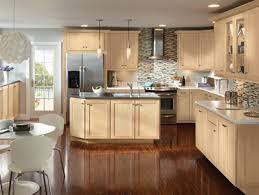 Light Maple Kitchen Cabinets Picturesque Design Ideas Light Maple Cabinets Excellent Colored