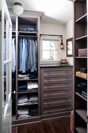 Built In Closet Drawers by Built In Storage Fixtures Provide Maximum Storage In This Men U0027s