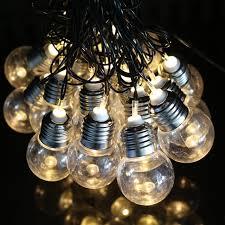 light bulb string lights ac 110v 220v eu us 5m 20led light bulb string lights christmas