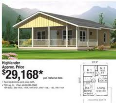 home floor plans menards highlander home from menards 29 168 00 house plans pinterest
