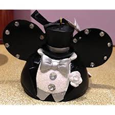 disney parks wedding groom mickey mouse ears hat