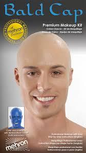 professional bald cap bald cap premium character makeup kit mehron