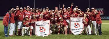 ccba national championship schedule announced mcgill baseball
