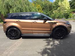 bronze range rover used 2014 land rover range rover evoque sd4 dynamic rare lux pack