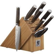 cool knife block shun premier 9 piece knife block set knife block set knife sets