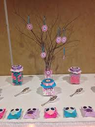 owl centerpieces owl decorations for baby shower theme ideas 6 diverting depiction