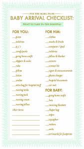 checklist image photo baby shower menu template bridal shower item