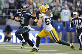 Blind Side Block Penalty Clay Matthews Fined 22k For Blindside Hit On Russell Wilson
