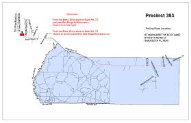 Florida State Road Map by Sarasota County Fl Supervisor Of Elections