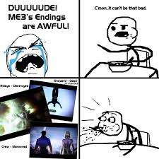 Cereal Meme - cereal guy finds out about me3 ending spoilers by feena c on