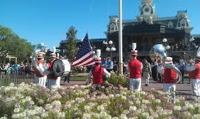 Disney Flag Thank You Veterans U2013 Disney Flag Retreat Ceremonies U2013 The Geek U0027s