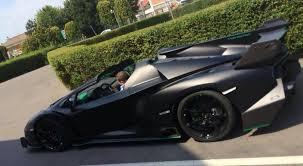 price of lamborghini veneno roadster matte black lamborghini veneno roadster captured gtspirit