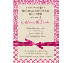 bridal shower brunch invitations pink damask bridal shower brunch invitations digital file