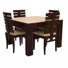 Wooden Dining Table Set Buy Wooden Dining Table Set Online India - Teak dining table and chairs india