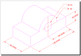 orthographic projection tutorial for autocad with video