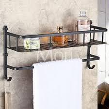 Bronze Bathroom Shelves Tuscany Brand Beautiful Rubbed Bronze Bathroom Shelf 10