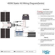 400 watt off grid monocrystalline solar starter kit hqst solar