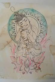 25 einzigartige buddha sleeve tattoo ideen auf pinterest buddha