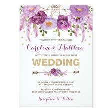 bohemian wedding invitations dreamcatcher wedding invitations boho wedding invitations