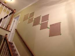 how to build a frame gallery along a staircase tommy u0026 ellie
