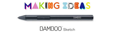 wacom bamboo sketch precision stylus for ipad and iphone