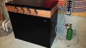 Mini Fridge Kegerator Building My Keezer Freezer Kegerator Youtube