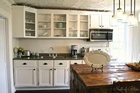 painted kitchen cabinet ideas kitchen floral pattern shade