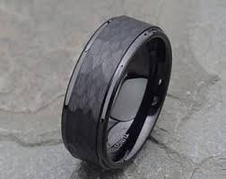 Mens Gunmetal Wedding Rings by Wedding Bands Etsy