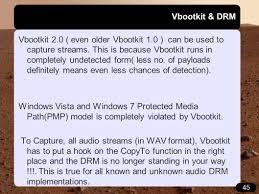 vbootkit attacking windows 7 via boot sectors hitb dubai nitin