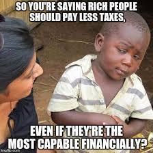Rich People Meme - explain your logistics imgflip