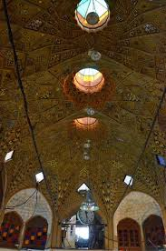 Decorative Ceilings One Of The Decorative Ceilings In The Bazaar Picture Of Tehran